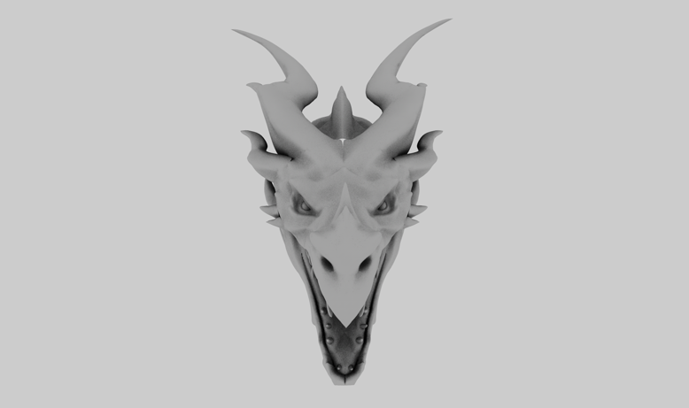 Dragón 3D Game of Thrones