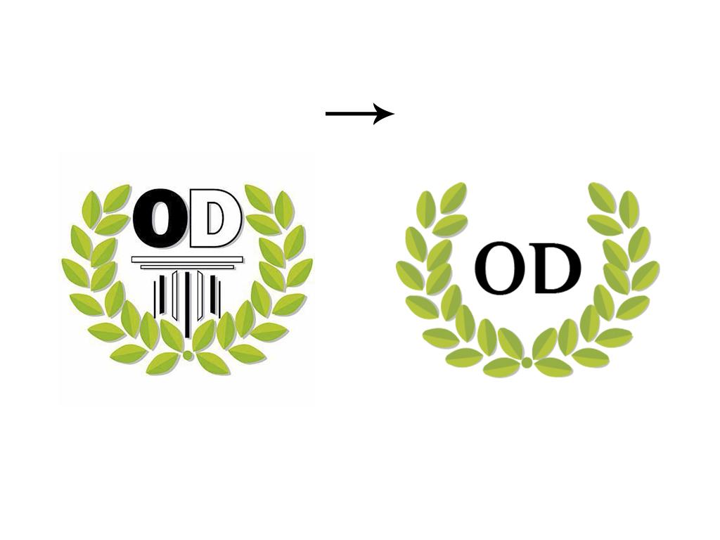 OD logo antes y ahora
